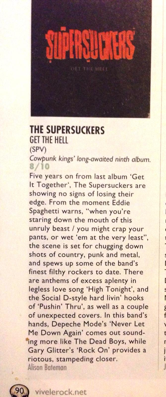 Supersuckers Get The Hell