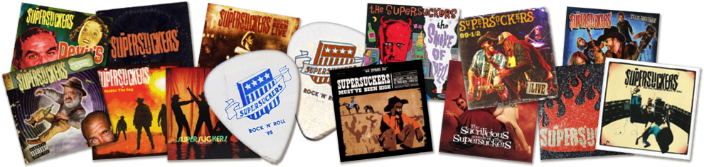Supersuckers Albums