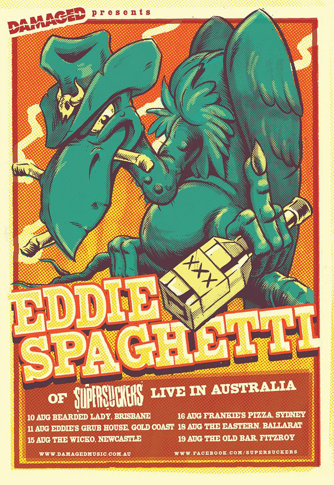 Eddie Spaghetti Tour Dates