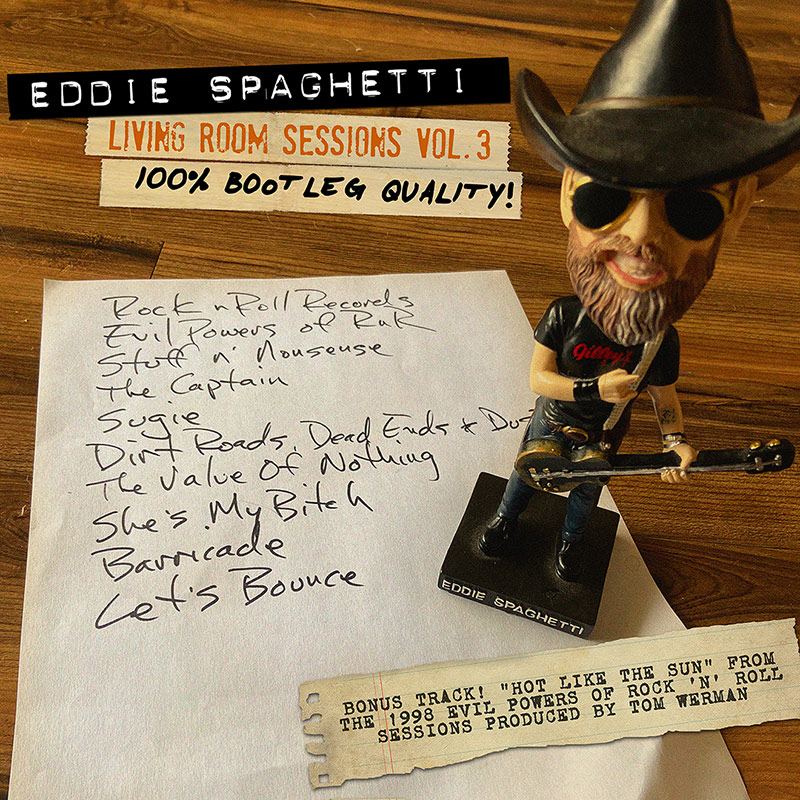 Eddie Spaghetti Living Room Sessions Volume 3